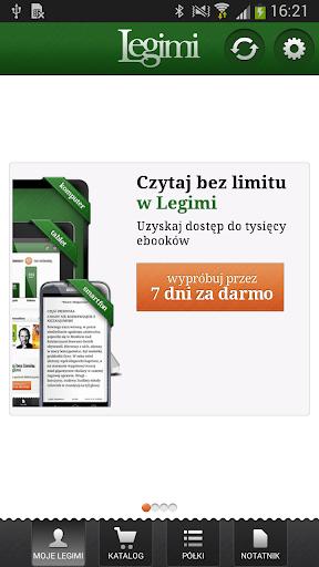 Legimi - ebooki bez limitu00f3w 2.64.2 gameplay | AndroidFC 1