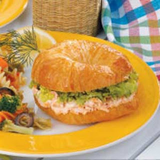 Salmon Dill Croissants.