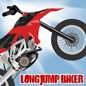 Long Jump Biker Free icon