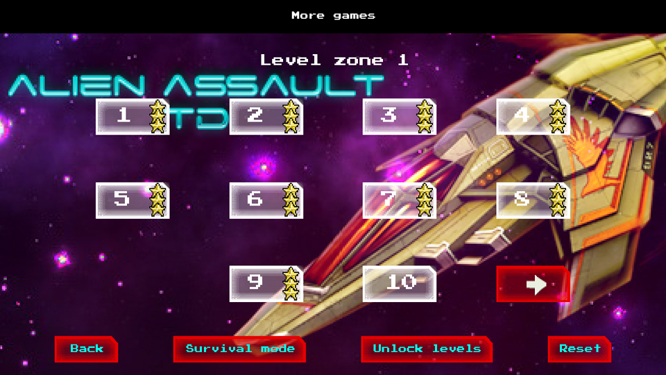 Alien Assault Tower Defense TD- screenshot