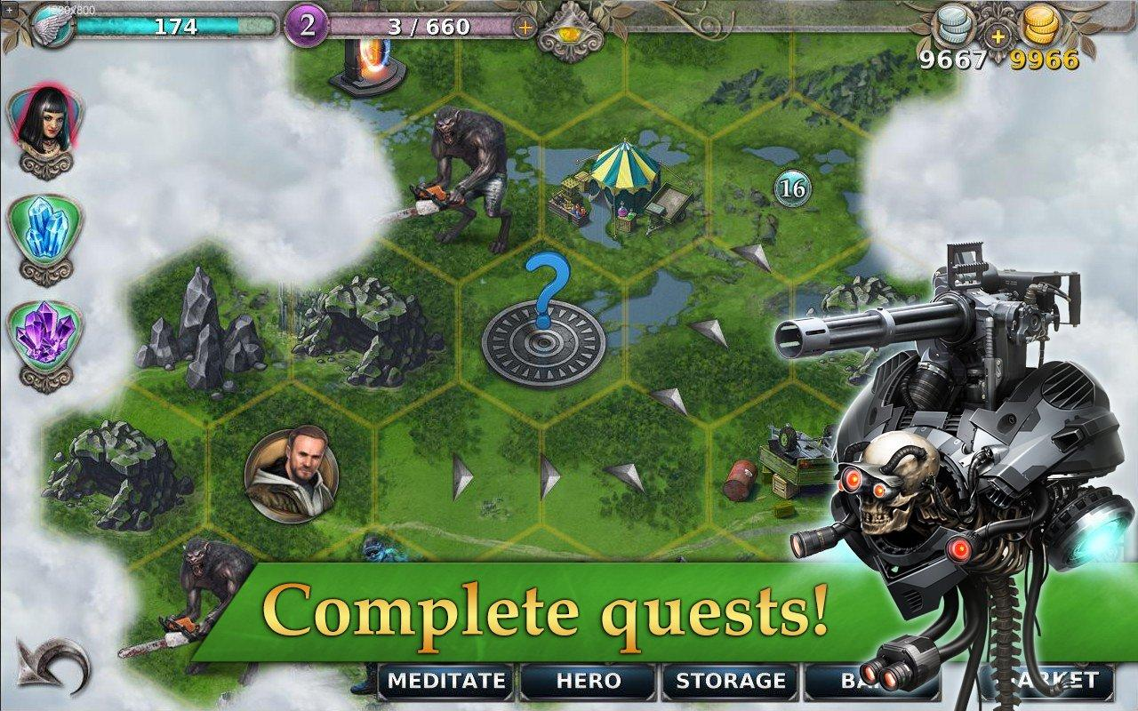 Gunspell - RPG and puzzle!- screenshot