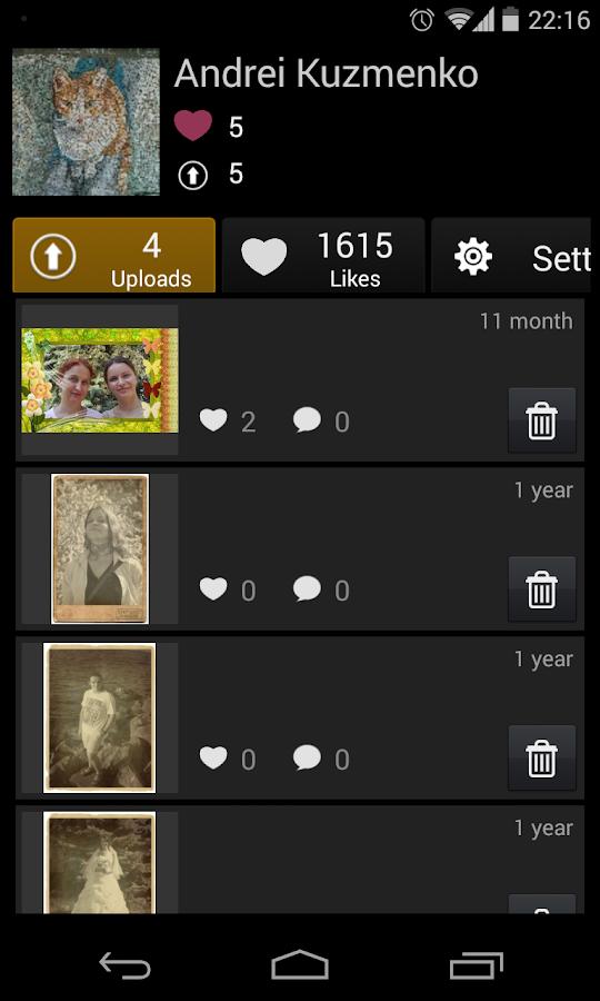 Love PhotoFrames - screenshot