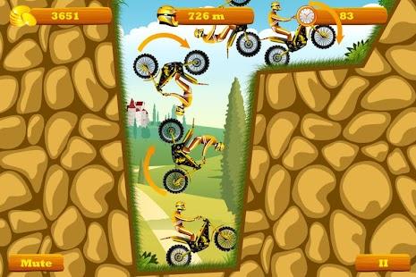 Moto Hero -- endless motorcycle running game - náhled