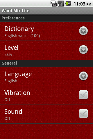 Word Mix Lite - screenshot