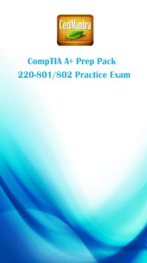 CompTIA A+ 220-801 802 Prep