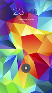 Galaxy s5 lockscreen - screenshot thumbnail