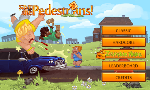 Save the Pedestrians