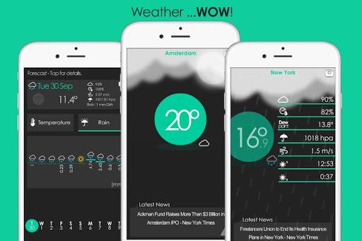 날씨…WOW