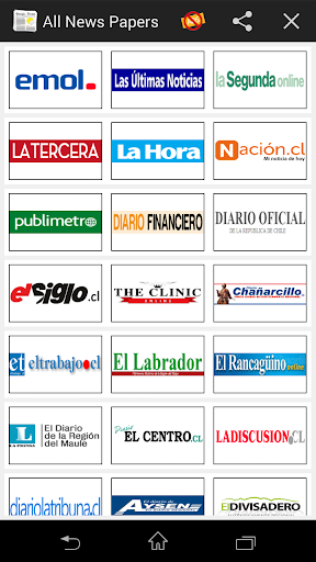 All Newspapers Chile