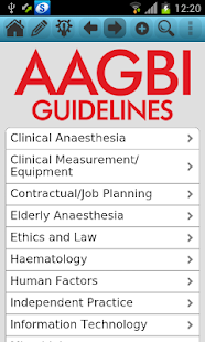 AAGBI Guidelines - náhled