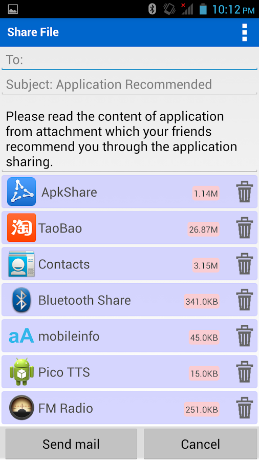 ApkShare - screenshot