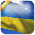 3D Ukraine Flag LWP icon