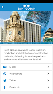 Saint-Gobain UK&Ireland Sites- screenshot thumbnail