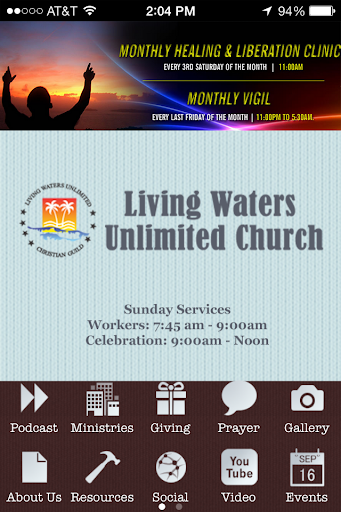 Living Waters Church Unlimited