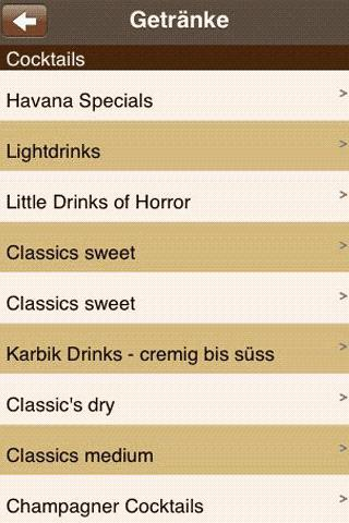 Havana Cocktailbar Dillingen- screenshot