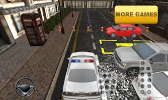 Screenshot of Police Car Parking