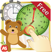 Telling Time Kids Read A Clock