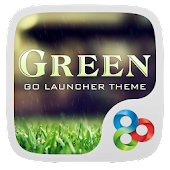Green GO Launcher Theme