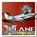 X-Plane to GPS icon