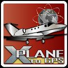 X-Plane to GPS icon