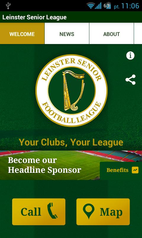Leinster Senior League- screenshot