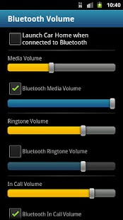 Bluetooth Volume - screenshot thumbnail