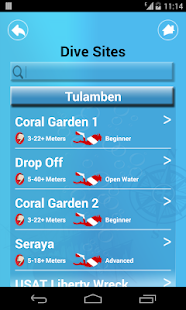 Bali Dive Guide- screenshot thumbnail