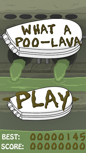 What a Poo - lava
