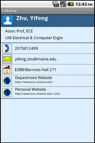University of Maine (UMaine)- screenshot