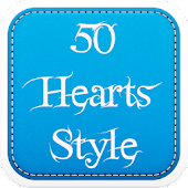 50 Hearts Fonts Style