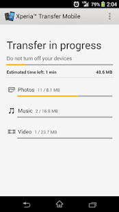 Xperia™ Transfer Mobile - screenshot thumbnail