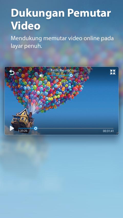 UC Browser Mini - screenshot