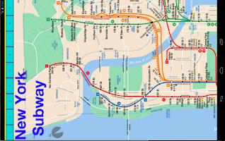 Screenshot of New York Metro Map
