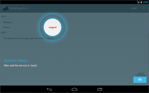 SSHDroid Screenshot