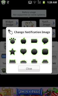Battery widget Z - screenshot thumbnail