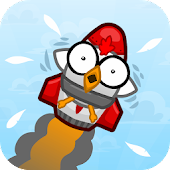 Rocket Bird Dash: Infinite Fly