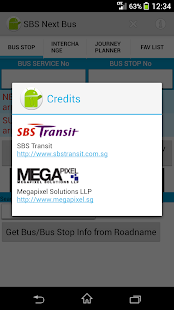 SBS Next Bus - screenshot thumbnail