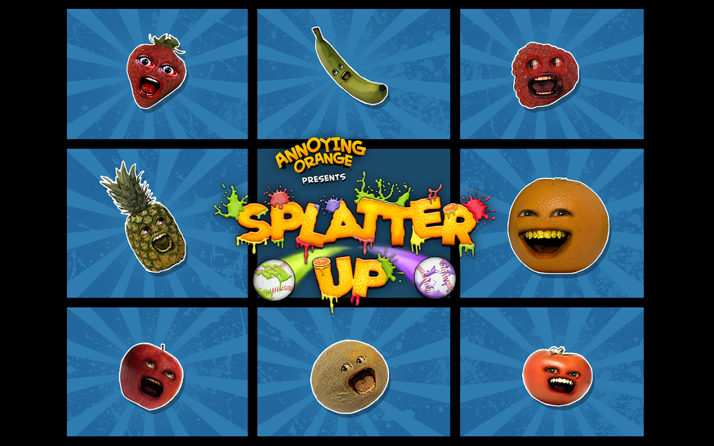 Annoying Orange: Splatter Free- screenshot