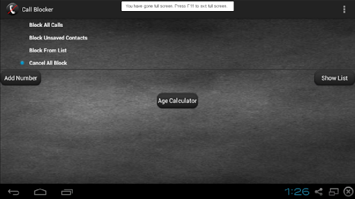 Call Block 6.0 screenshots {n} 4