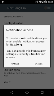 NextSong Pro - Notifications- screenshot thumbnail