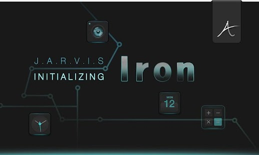 IRON Atom theme - screenshot thumbnail