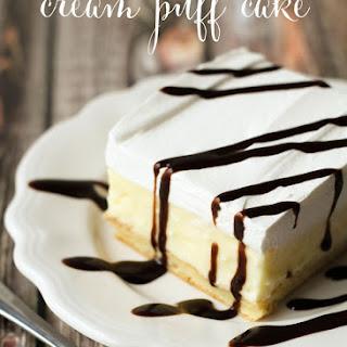 Cream Puff Cake.