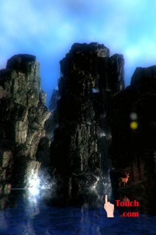 3D Waterfall Island LWP Free
