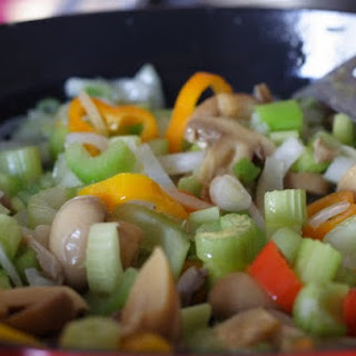Fried Rice with Vegetables.