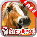 Angry Horse Free! icon