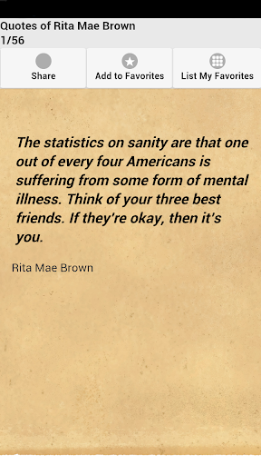 Quotes of Rita Mae Brown