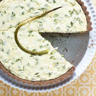Garlic Scape Tart