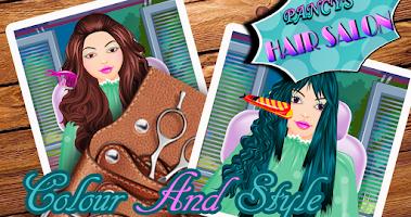 Screenshot of Pancy's Hair Salon - Kids game