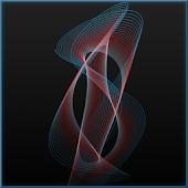 3D Harmonograph Live Wallpaper