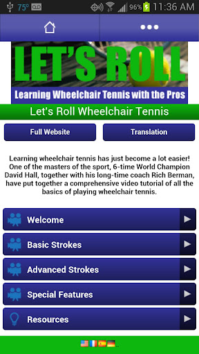 Let's Roll Wheelchair Tennis
